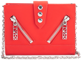 Kenzo Women's Kalifornia Wallet on a Chain Crossbody Bag Red