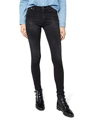 Replay Women's Zackie Straight Jeans, (Black Denim 7), W31/L32 (Size: 31)