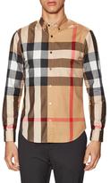 Burberry Checkered Button Down Sportshirt