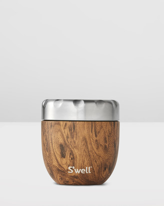 Swell Home - Eats Insulated Food Container Wood Collection 470ml - Size One Size at The Iconic