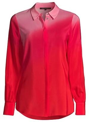 Kobi Halperin Lynn Dip-Dye Button-Up Blouse