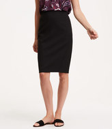 LOFT Curvy Seamed Scuba Pencil Skirt