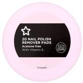 Superdrug Nail Polish Remover Pads Vitamin E