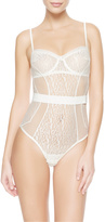 FELINE CHIC Underwired bodysuit