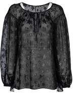 Saint Laurent Star Pattern Gypsy Blouse
