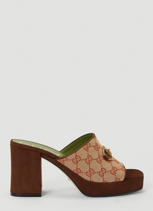 Gucci Horsebit Platform Sandals