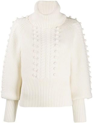 Temperley London Chrissie bobble knit sweater