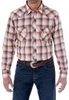 Wrangler Western Jean Plaid Shirt - Snap Front, Long Sleeve (For Men)