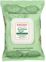 Burt's Bees Cucumber & Sage Facial Cleansing Towelettes