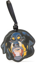 Givenchy Rottweiler Leather Keychain, Multi
