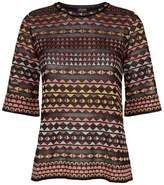 M Missoni Aztec Knitted T-Shirt