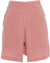 Temperley London Chambray Pink Lanai Skirt
