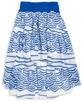 Junior Gaultier Toddler's, Little Girl's & Girl's Printed Hi-Lo Skirt