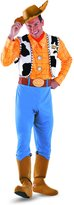 Disguise Men's Woody Deluxe Adult Costume
