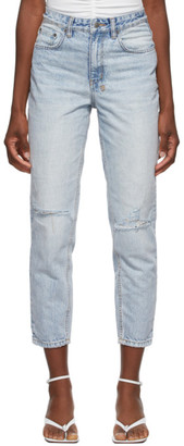 Ksubi Blue Ripped Pointer Jeans