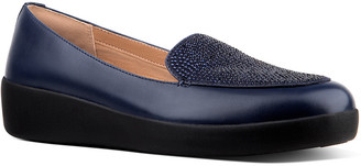 FitFlop Crystal Leather Sneakerloafer