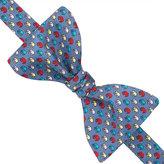 Thomas Pink Multi Elephant Print 'Self Tie' Bow Tie