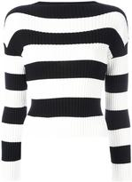 Moschino striped jumper - women - Cotton - 46