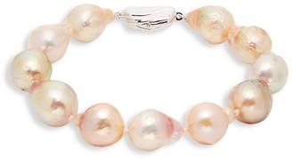 Tara Pearls Sterling Silver 11-13MM Baroque Freshwater Pearl Bracelet