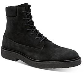 AllSaints Men's Marco Suede Lace-Up Boots