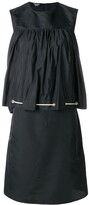 Calvin Klein drawstring smock dress