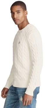 Polo Ralph Lauren Men's Cable-Knit Cotton Sweater