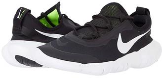 Nike Kids Free Run 5.0 2020 (Big Kid) (Black/White/Anthracite/Volt) Kid's Shoes