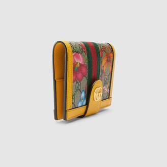 Gucci Ophidia GG Flora passport case