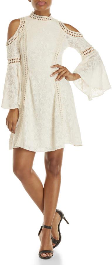 Alice + Olivia Enya Bell Cuff Dress