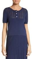 The Kooples Women's Short Sleeve Sweater