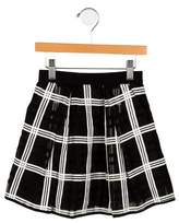 Milly Minis Girls' Plaid Skirt