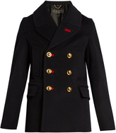 Burberry Double-breasted wool-blend pea coat