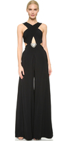 Temperley London Bowery Cross Front Jumpsuit