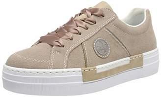 Rieker Women's N49d0-32 Obermaterial Leder Low-Top Sneakers