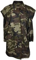 MM6 MAISON MARGIELA Maison Margiela Camo Raincoat