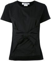 Comme des Garcons bow front T-shirt