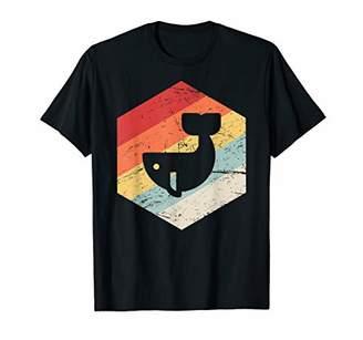 Vintage Retro Whale T-Shirt