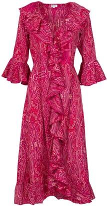Felicity Dress- Pink Ripple