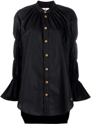 Vivienne Westwood Tiered Sleeve Organic Cotton Shirt