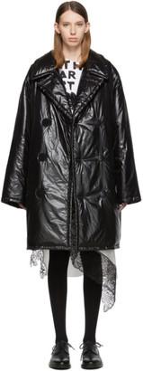 Maison Margiela Black Down Glossy Jacket