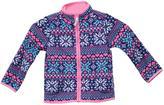 Carter's Little Girls' Zip Up Fleece Sweater