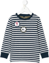 Stella McCartney striped longlseeved T-shirt - kids - Cotton/Polyester - 2 yrs