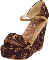 Two Lips Women's Bamboo Wedge Sandal