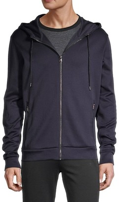 HUGO BOSS Hooded Cotton Jacket