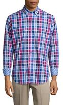 Tailorbyrd Regular-Fit Thames Check Cotton Sportshirt