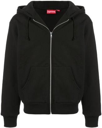 Supreme World Famous zip up hoodie
