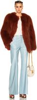 Zeynep Arcay Short Fox Fur Coat