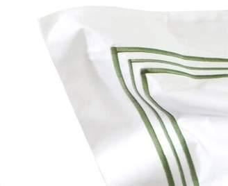 Bellino Fine Linens Tivoli Sham Fine Linens Size: Standard, Color: White