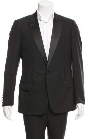 Christian Dior Peaked Lapel Wool Blazer w/ Tags