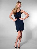 Jenni Kayne U Neck Dress in Navy/Black